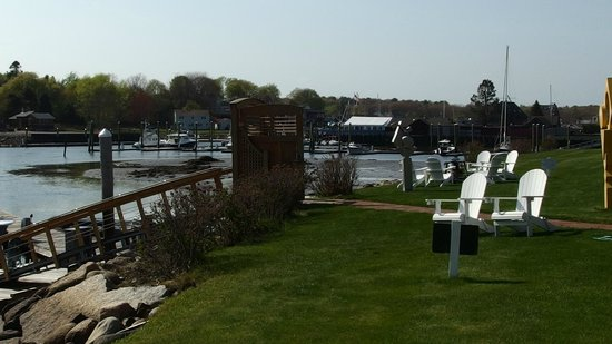 Yachtsman Lodge & Marina: from our terrace
