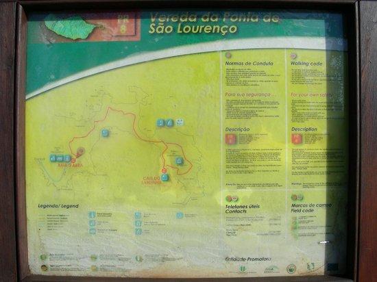 Ponta de São Lourenço : Vereda Ponta de S. lourenço