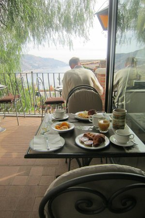 Hotel La Pensione Svizzera : Breakfast