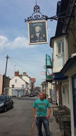 The Lord Nelson: A mans pub :-)