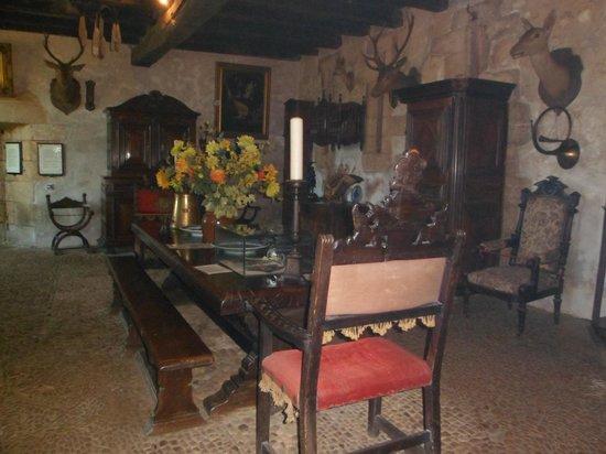 La Maison Forte de Reignac : grande salle d'honneur