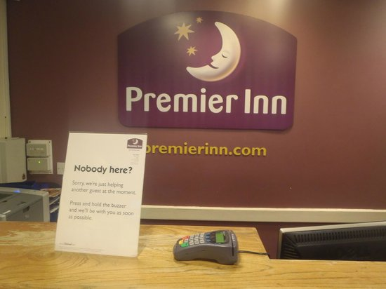 Premier Inn Port Talbot Hotel: Not what i wanted to see after a long drive