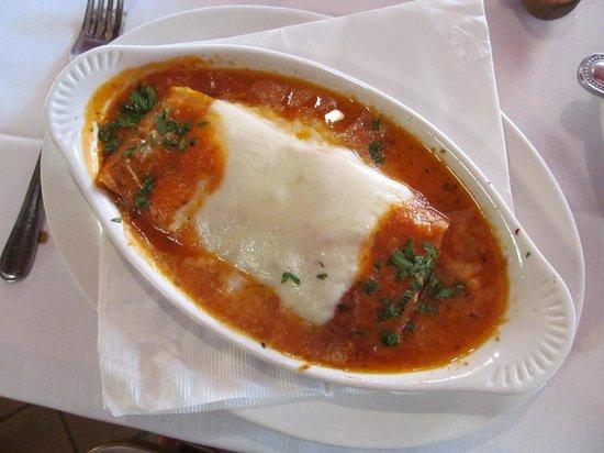 Fabio S Italian Restaurant Lasagna