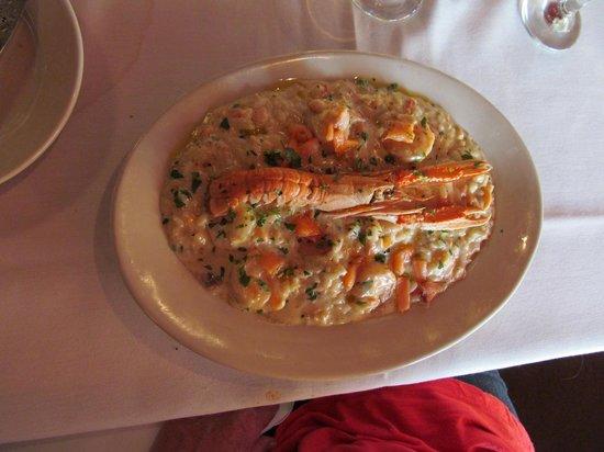 Fabio S Italian Restaurant Shrimp Scampi Risotto
