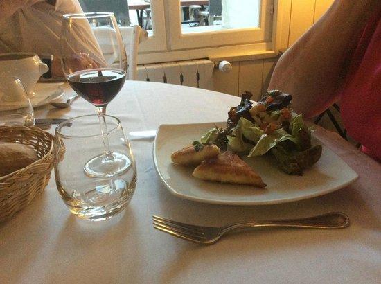 Hotel Restaurant l'Ocean : demi-pension très bonne