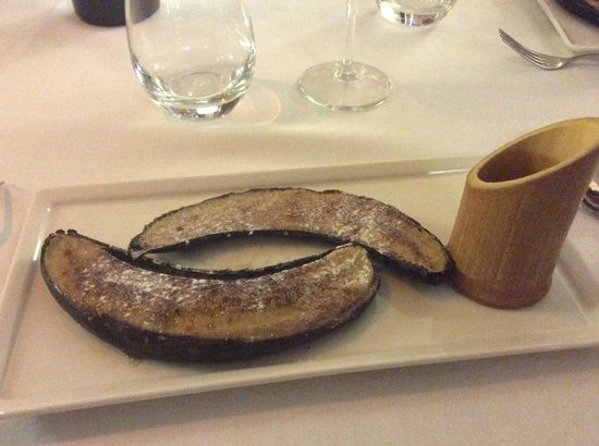 Hotel Restaurant l'Ocean : dessert au caramel
