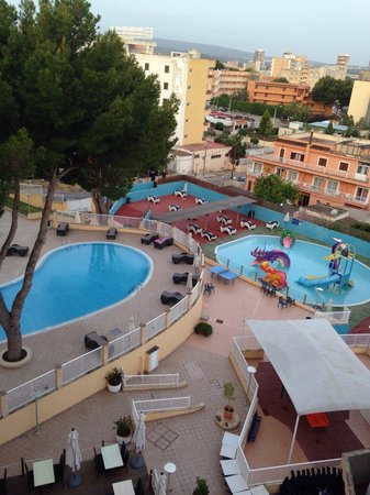 Hotel Marina Torrenova: View from the 5th floor