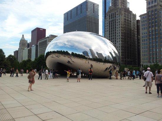 Hilton Garden Inn Chicago Downtown/Magnificent Mile: Le haricot de Chicago