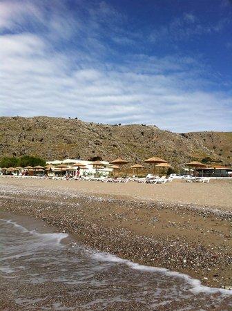 Lardos Bay Hotel: mare