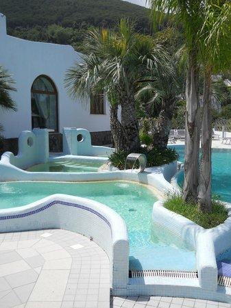 Hotel Myage : vasche termali