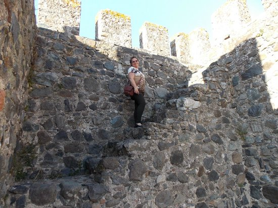 Castelo de Beja com Celina Albano Sanches