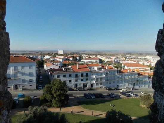 Vista do alto do Castelo de Beja