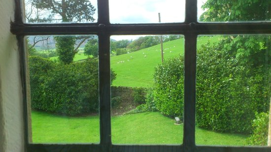 Stone House Hotel: View from west window