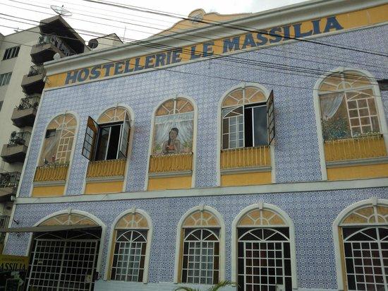 Hotel Le Massilia: Fachada do Hotel