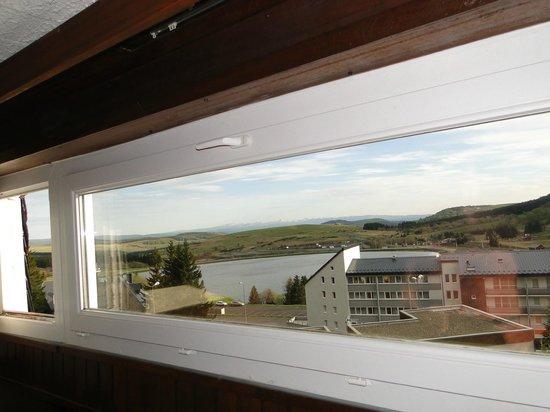 Hotel Gergovia : vue panoramique de la chambre