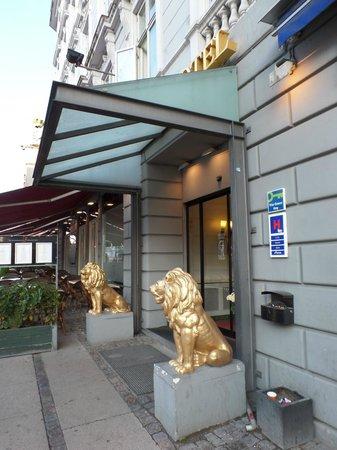 Grand Hotel Kopenhagen Eingang