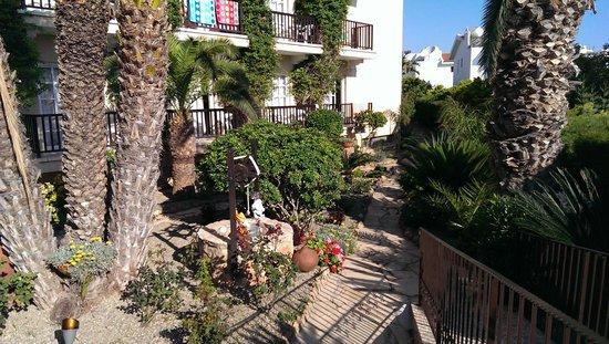 Anais Bay Hotel: Vakker hage