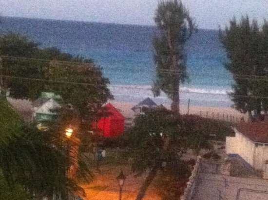 South Beach Hotel: View from the balcony