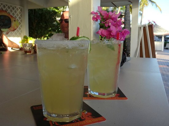 Ocean Club Cabana Bar & Grill: Margaritas