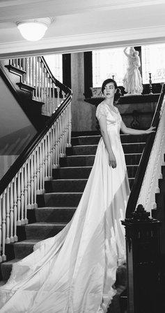 Portland's White House Inn: Weddings are elegant in any era here at the Inn, photo by Ivan B. McClellan