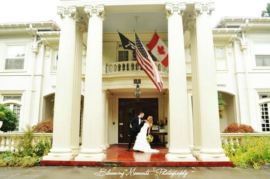 Portland's White House Inn: A magical setting for your special wedding and reception.
