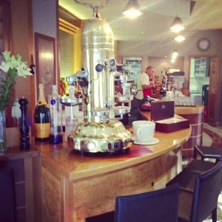 CIAOCafe Bistro: coffee machine