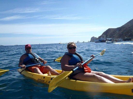 Worldmark Coral Baja: Kayaking in Cabo at Medano beach