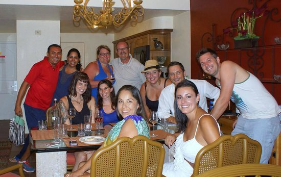 """Worldmark Coral Baja: Our party in the penthouse catered by our friend Pablo Velez, owner and chef of """"El Matador"""""""