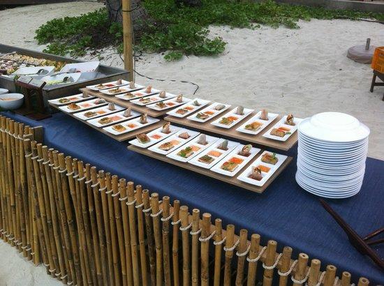 Chaweng Regent Beach Resort: buffet