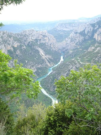 Camping la Ferme de Castellane : Il Verdon