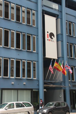 iQ Hotel Roma: Façade IQ hôtel