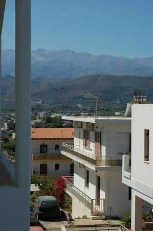 Alexis Hotel, Chania: View from the room 1