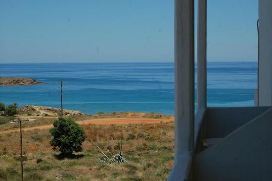 Alexis Hotel, Chania: View from the room 2