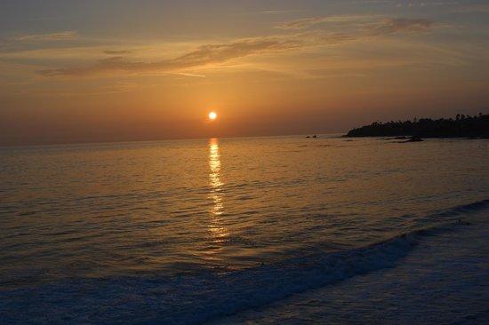 Pacific Edge Hotel on Laguna Beach: Sunset ;-)