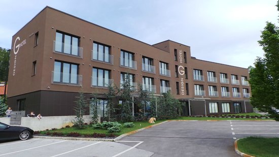 G Design Hotel : Aussenansicht