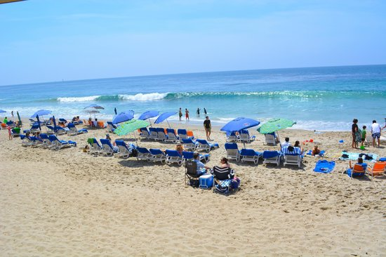 Pacific Edge Hotel on Laguna Beach: Great place to enjoy the beach