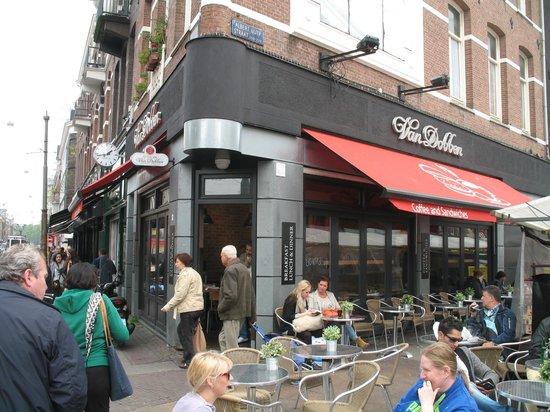 Cafe de Pijp: Eetsalon van Dobben de Pijp    Ferdinand Bolstraat 53