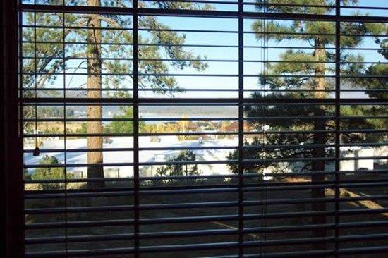 Worldmark at Big Bear: view from living room
