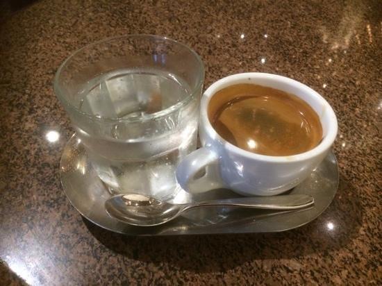 Hilton Adelaide: morning coffee