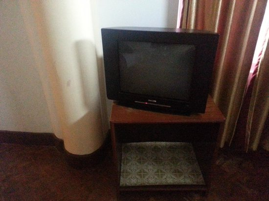 Central Nirvana Resort, Darjeeling: A TV that plays only 7-8 channels