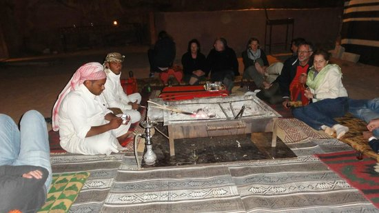 Wadi Rum Discovery: Dinner at the camp