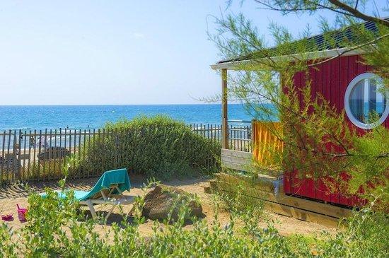 La Cabane De La Mer Avec Vue Au Beach Garden  Photo De Les