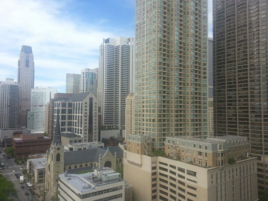 dana hotel and spa: Daytime view from 20th floor