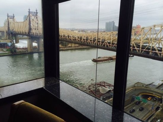 The Bentley Hotel: My amazing view over the East River.
