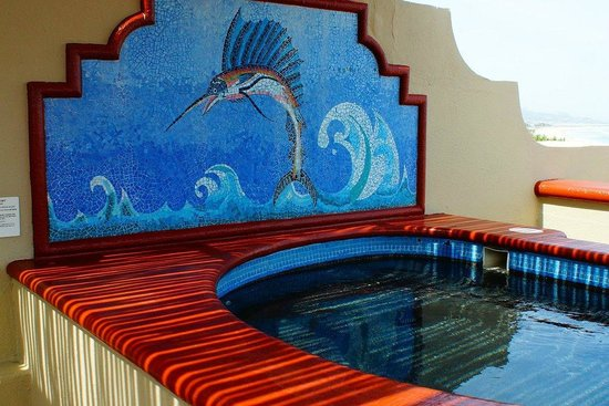 Worldmark Coral Baja: Jacuzzi on the penthouse roof