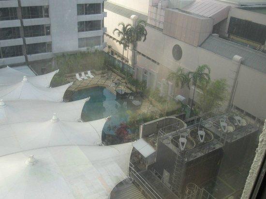 Peninsula Excelsior Hotel: vue de la chambre