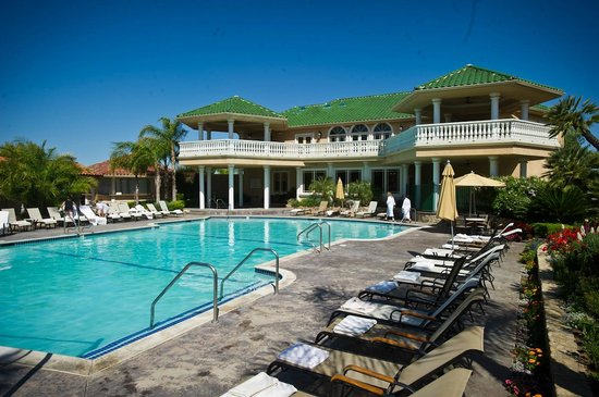 South Coast Winery Resort & Spa: Pool at our GrapeSeed Spa