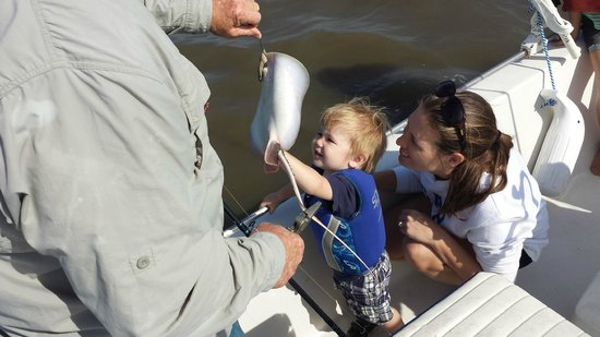 Kids Fishing Billy Bee Charters: Little Man's Stingray
