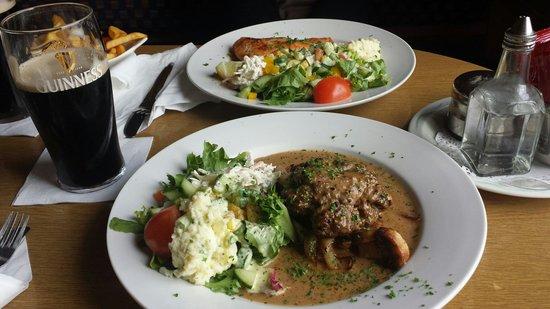 Carna Bay Hotel Restaurant: Tagesspecial