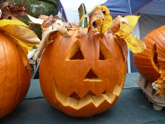Imagination Mountain Camp-Resort: Jellystone Pumpking Carving Contest